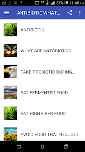 ANTIBIOTIC WHAT TO EAT DURING THERAPY - náhled
