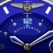 Blue Sun Watch Face