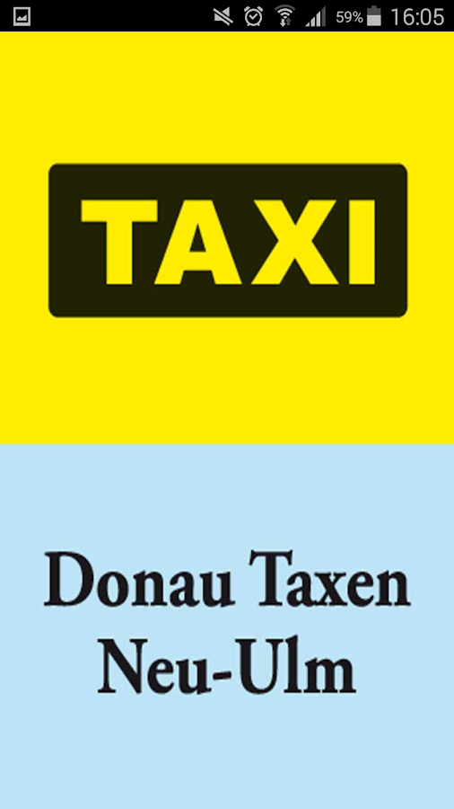 Donau Taxen Neu-Ulm – Screenshot