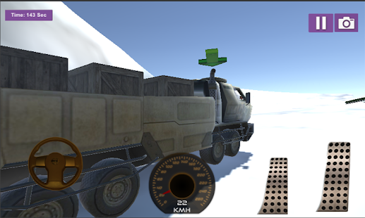 3D Offroad Cargo Racing In Truck Drive - náhled
