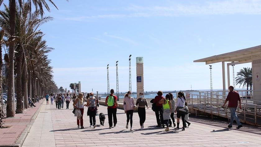 Paseo Marítimo de Almería.