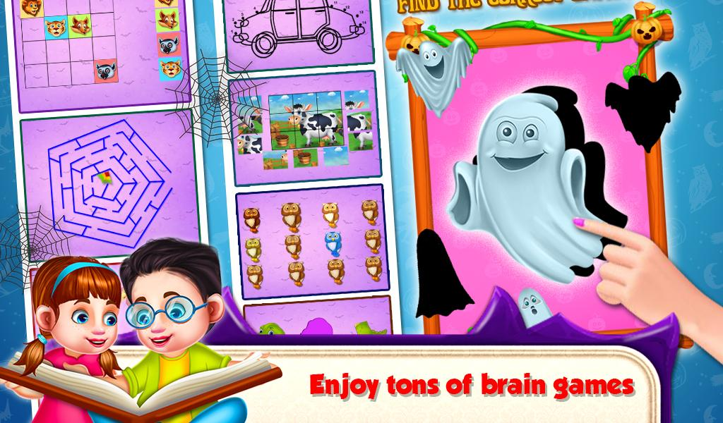 Educational Kids Computer Halloween- screenshot