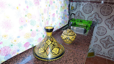 "Photo: Tajine - eine marokkanische Art ""Römertopf"""