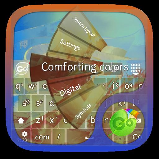 个人化のフォー色 GO Keyboard LOGO-記事Game