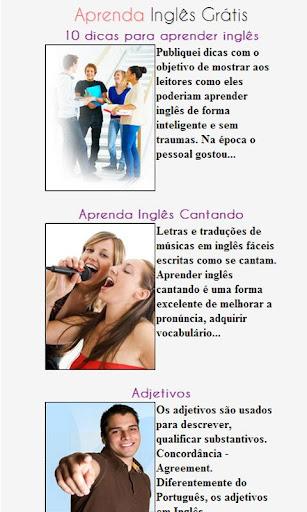 Aprenda Inglês Grátis