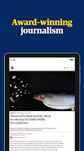The Guardian - Live World News, Sport & Opinion Screenshot