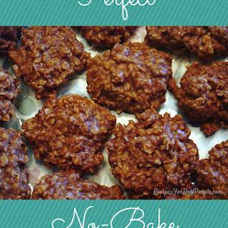 Perfect No-Bake Chocolate Oatmeal Cookies