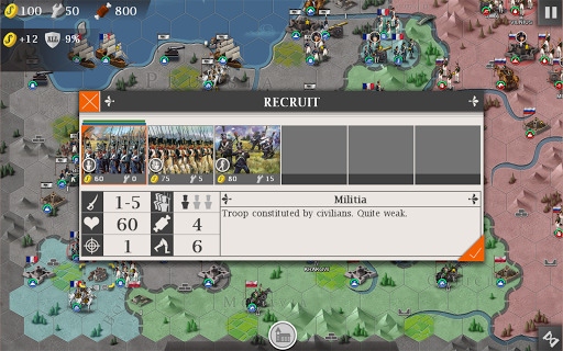 European War 4: Napoleon screenshot 14