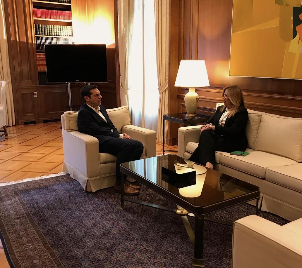 Γεννηματά: Όχι στον όρο «Ιλιντεν» για την ονομασία της ΠΓΔΜ