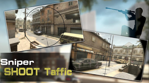 Sniper Shoot Traffic 1.3 Mod screenshots 4