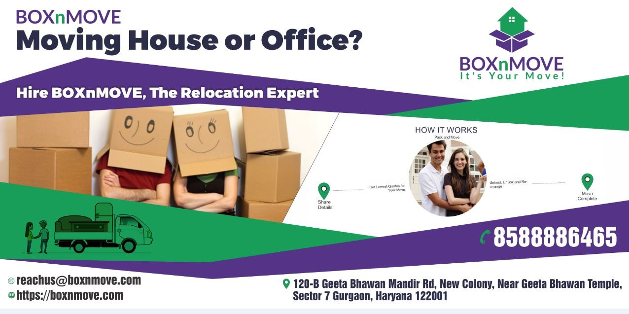 BOXnMOVE Packers and Movers image