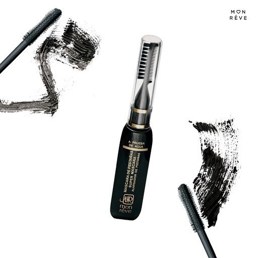 Mascara Mon Reve Black Con Cepillo -Peine