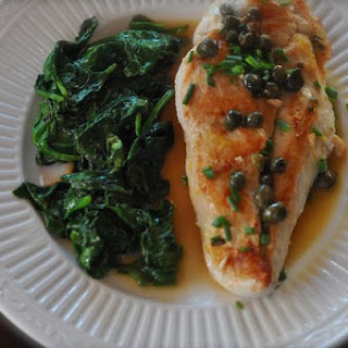 Chicken Piccata Light