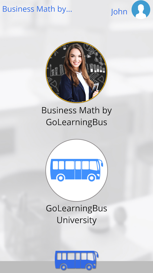 Learn Business Math- screenshot
