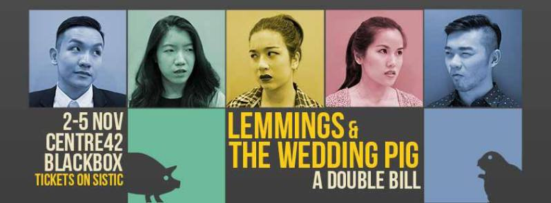 Lemmings was Tay's award-winning entry to TheatreWorks' 2012 installment of  the 24-Hour Playwriting Competition, and has been since published by ...