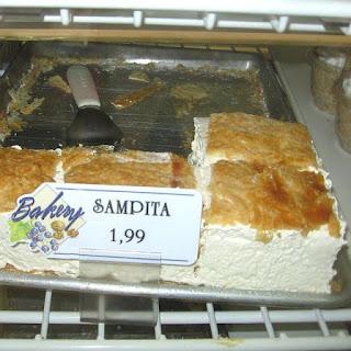 Serbian Meringue Slices Recipe - Sampita
