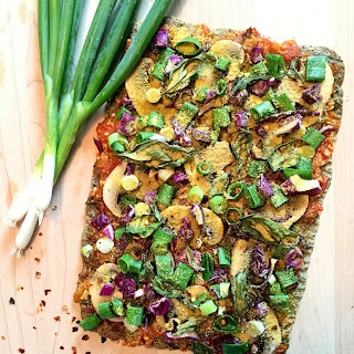 Quinoa Flatbread Crust.