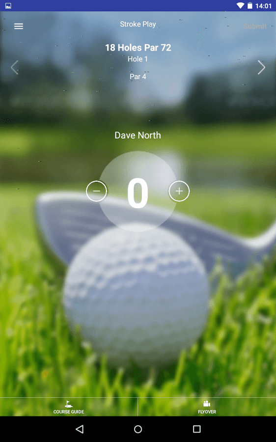 Collingtree Park Golf Club- screenshot