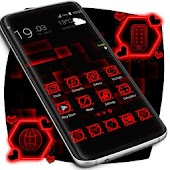 Red Launcher Theme