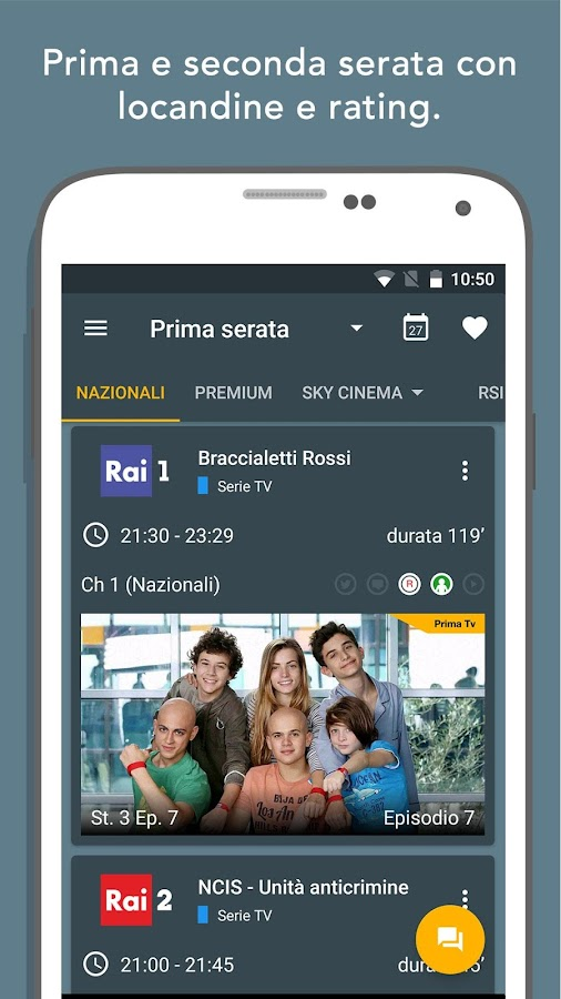 Super Guida TV Gratis- screenshot