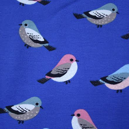 Småfåglar Bomullstrikå - blå