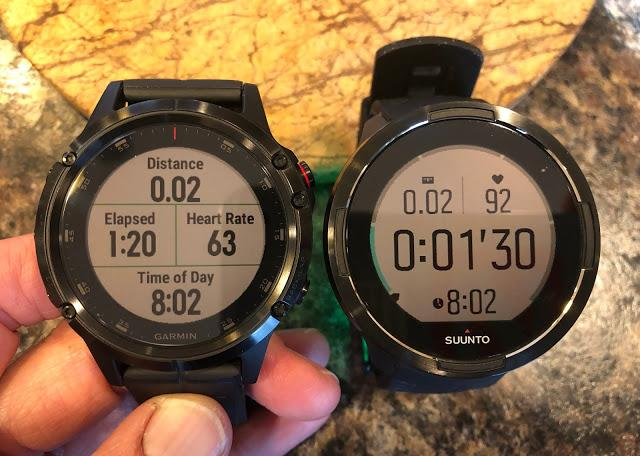 Road Trail Run Garmin Fenix 5 Plus Or Suunto S9 Baro Having