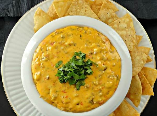 Fast Fannie's Fiery Cheesy Sausage Dip Recipe