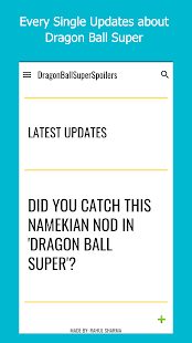 Dragon Ball Spoilers: Latest Episodes/ Updates - náhled
