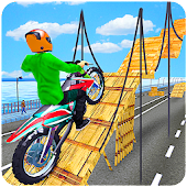 Motor Bike Stunt Tricks Driver