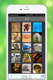 SliderMania Tiere Pro (Puzzles) Screenshot