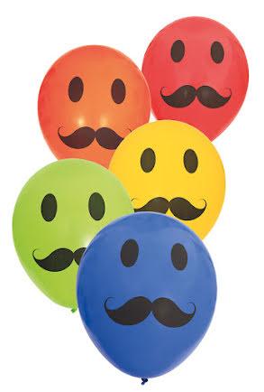 Ballonger, Mustasch 6 st