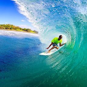 Nice one by Trevor Murphy - Sports & Fitness Surfing ( barrels, surfing, tmurphyphotography, randy townsend, costa rica )