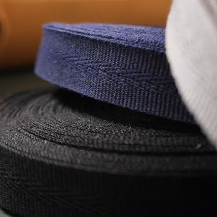 Väskkantband - flera färger