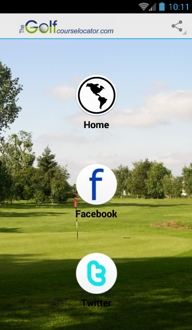 Find a Golf Course- screenshot