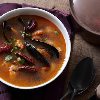 Spanish Seafood Soup.