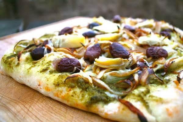 Artichoke Heart Pizza Recipe