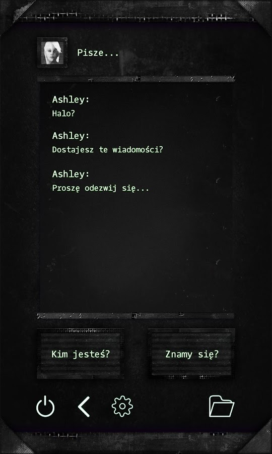 Ashley – zrzut ekranu