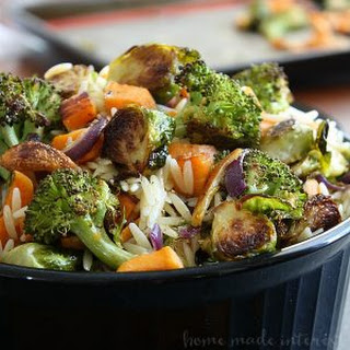 Roasted Fall Vegetable Orzo Recipe