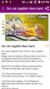 Download Om jai jagdish aarti - Vishnu Aarti APK latest