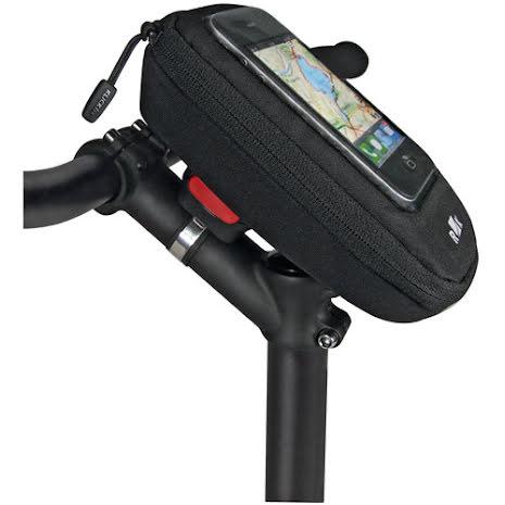 KLICKfix Phone Bag Plus sykkelveske for telefon, sort