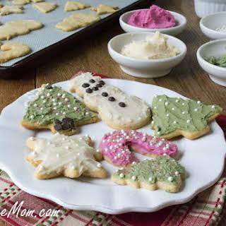 Sugarless Low Calorie Sugar Cookies.