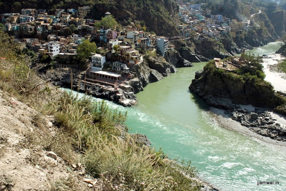 Rudraprayag, where Alaknanda & Mandakini combine to form Ganga