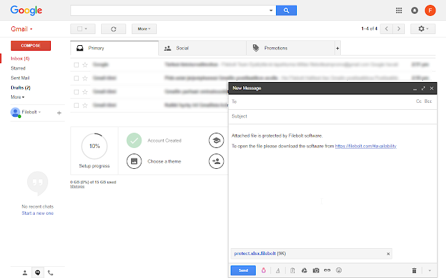 Filebolt Gmail Encryption