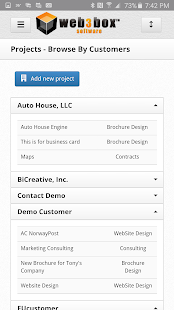 W3B Management Solutions- screenshot thumbnail