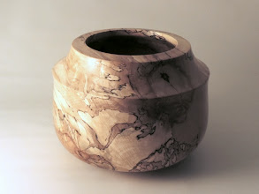 "Photo: Richard Webster 6"" x 8 1/2"" bowl [spalted maple]"