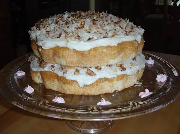Vanilla-pecan Coconut Torte Recipe