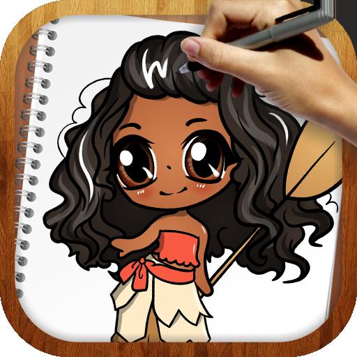 Draw Moana for PC