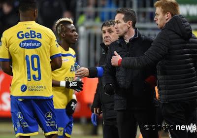 L'entraîneur de Saint-Trond n'est pas content de l'attitude de son milieu de terrain