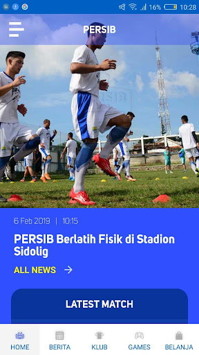 Persib 2.1.6 gameplay | AndroidFC 2