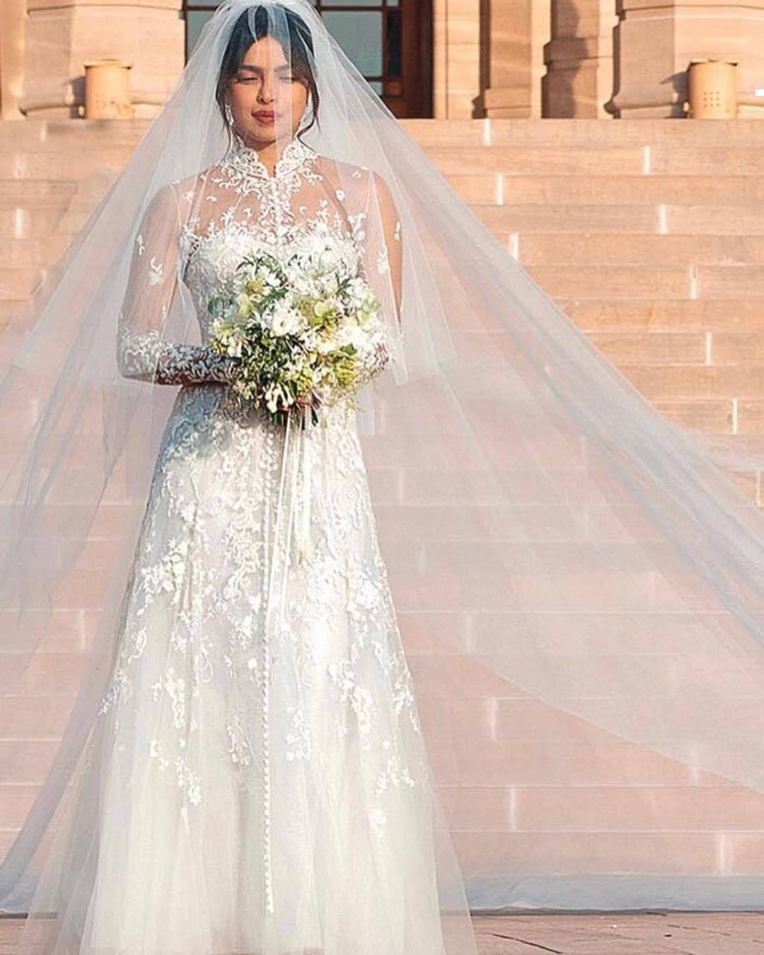 Image result for priyanka chopra wedding dress